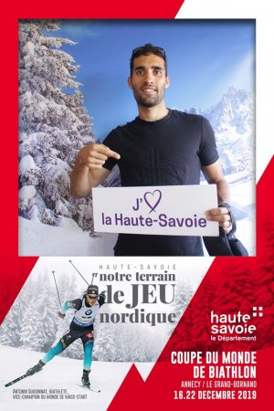 Photobooth Martin Fourcade